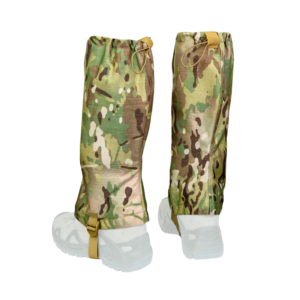 Tactical High Leg Legging Gaiters-V V-Camo
