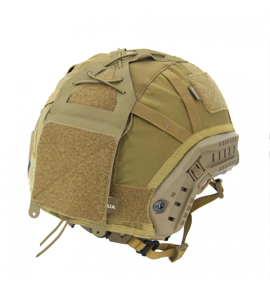 Ballistic Helmet TOR-D with cover G4\HP Coyote