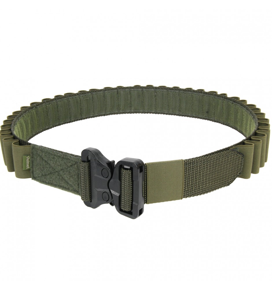"12 Gauge Shotgun Belt ""ARCHI"" Ranger Green"