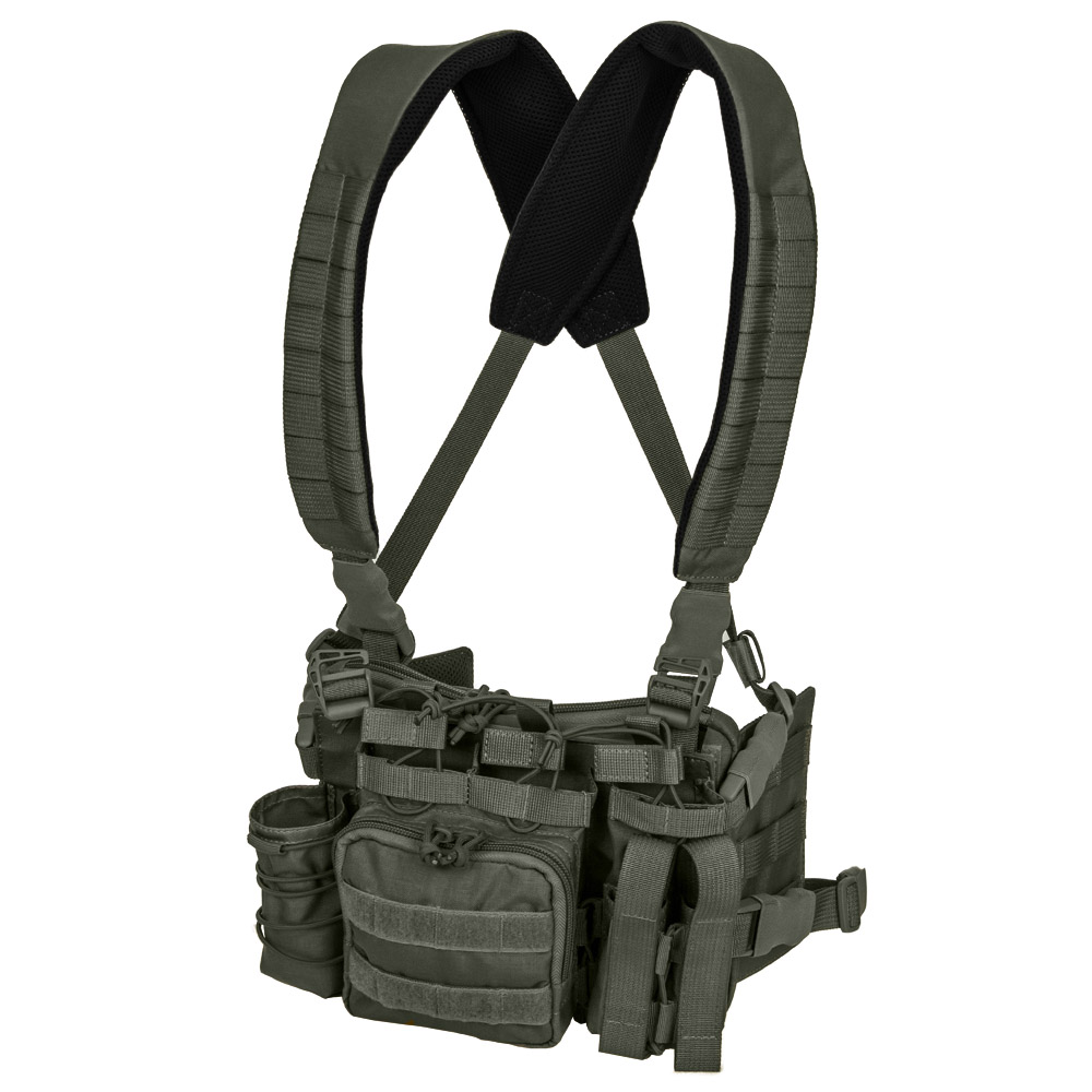 Разгрузка-нагрудник Chest Rig Troll Mini Ranger Green