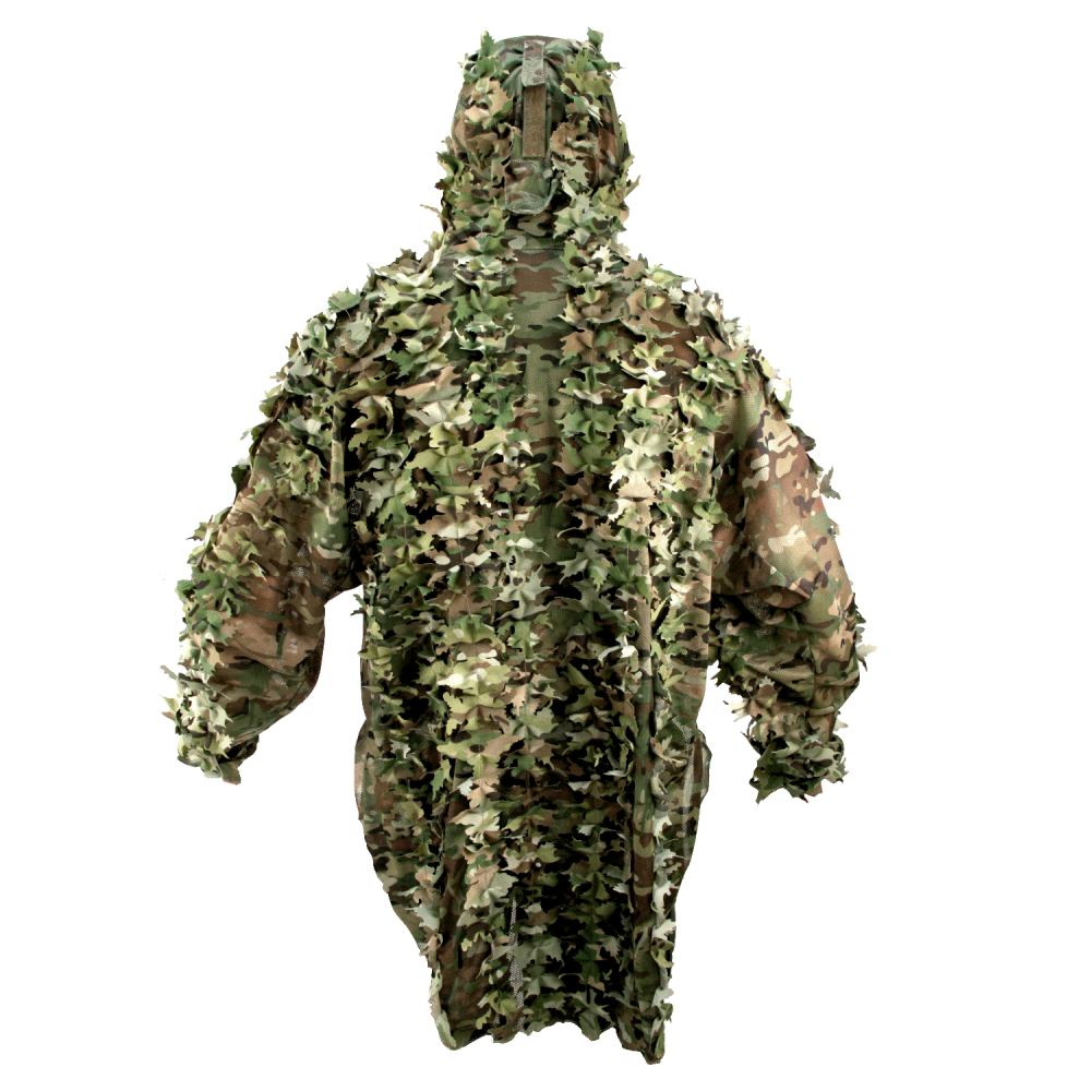 Summer camouflage ghillie suit 3D
