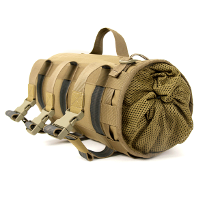 Bag for a rope on a leg
