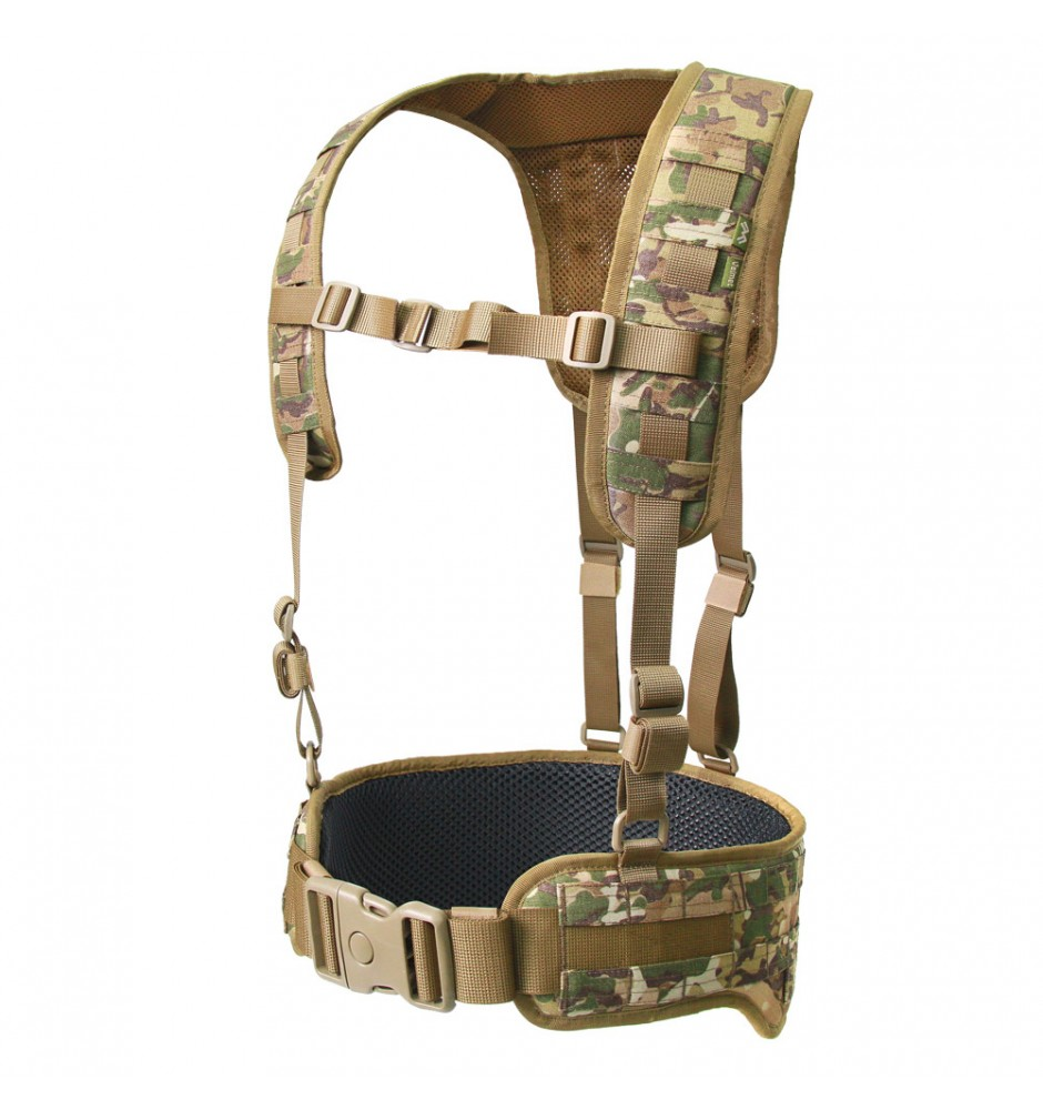 Tactical MOLLE Belt with Suspenders Z-TAC SF G2 MaWka ®