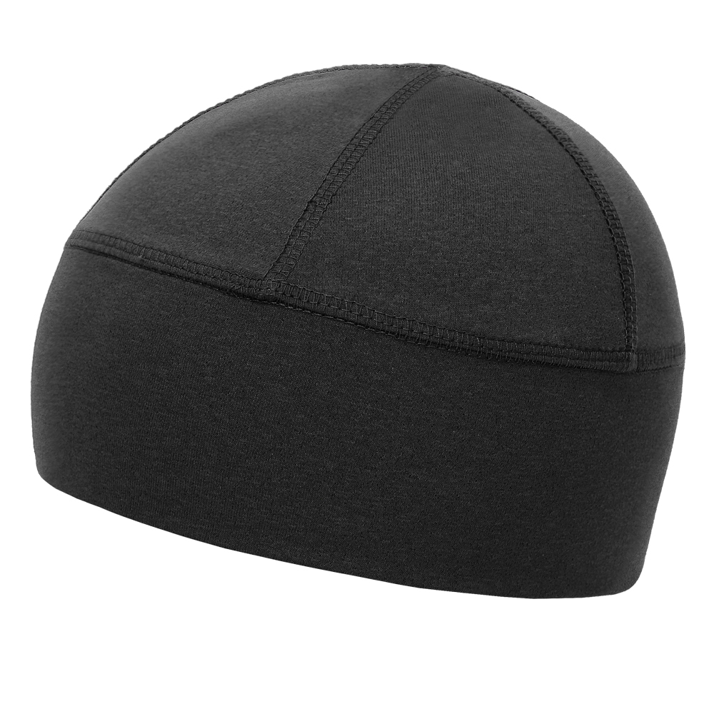 Helmet Cap 100% Cotton Black