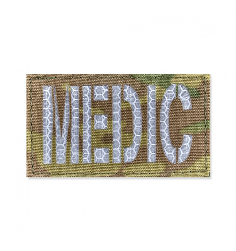 Reflective Patch MEDIC 45*80 V-Camo