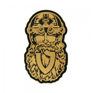 PVC Patch Tactical Beard 50*80