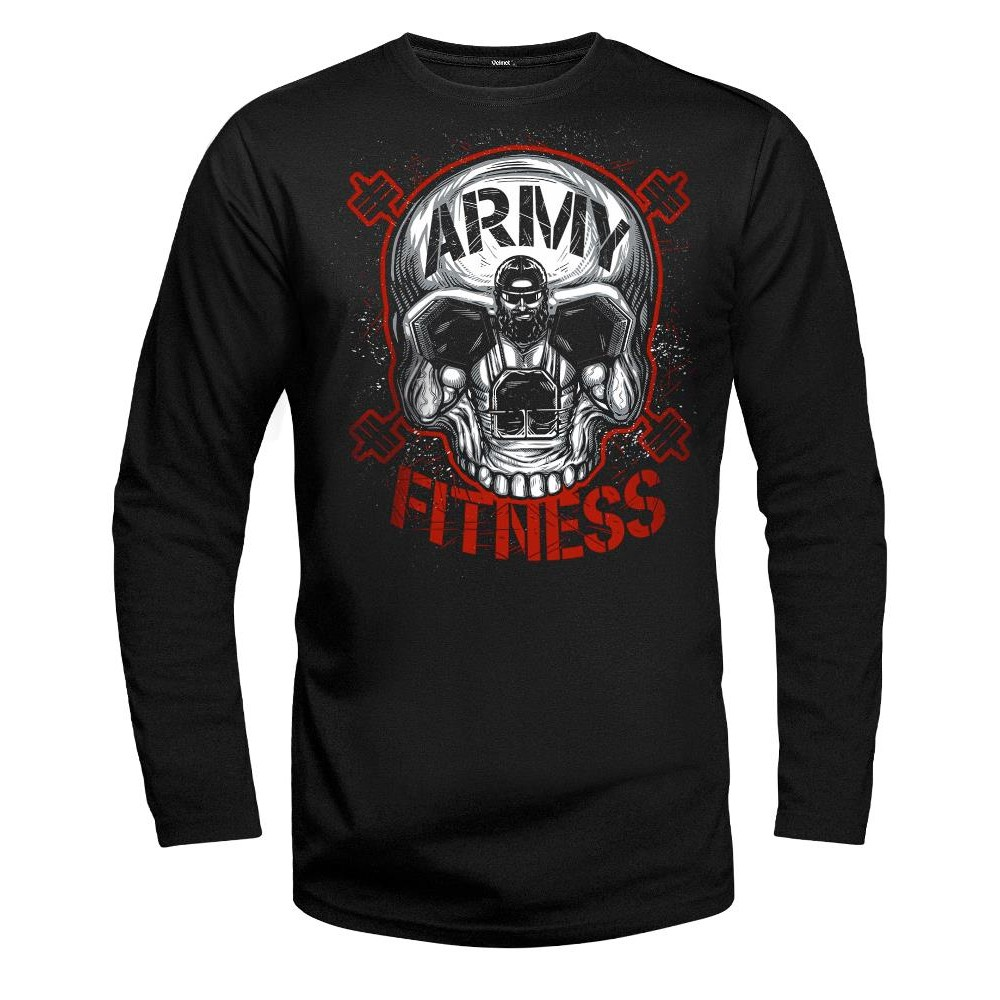 Velmet Long Sleeve - Army Fitness Black