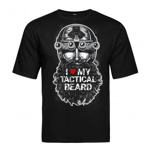 Tactical T-shirt V-TAC - Tactical Beard Black