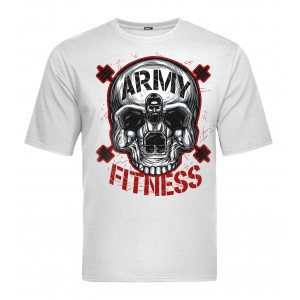 Tactical T-shirt V-TAC - Army Fitness White