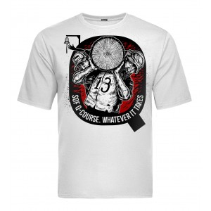 Tactical T-shirt V-TAC - Q-Course White
