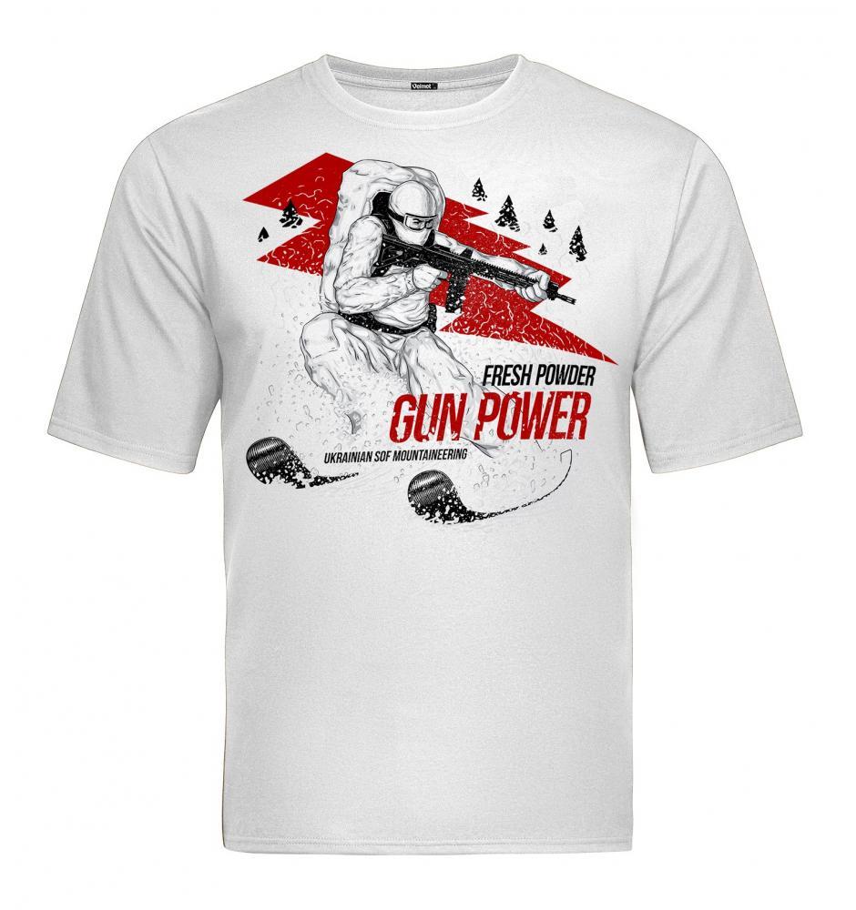 Velmet T-Shirt  V-TAC - Skitour White