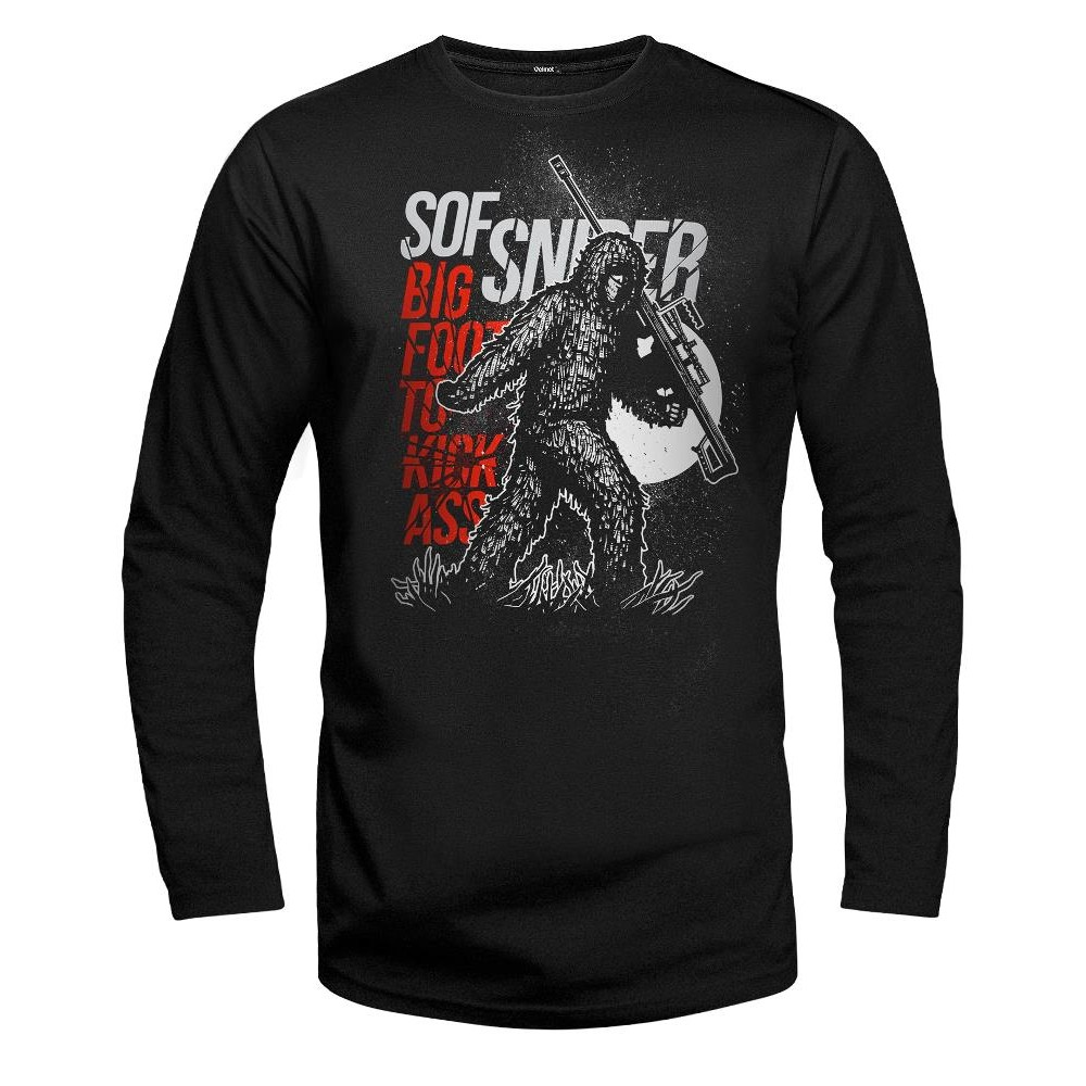 Velmet Long Sleeve - Bigfoot Black