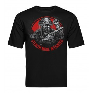 Tactical T-shirt V-TAC - Stealth Black