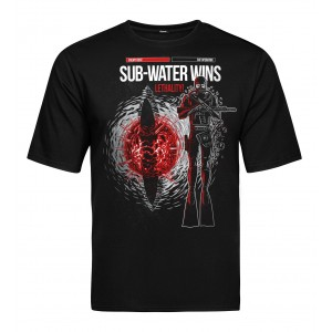 Tactical T-shirt V-TAC - Underwater Black