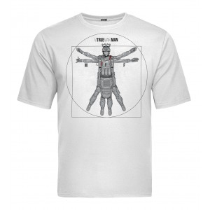 Tactical T-shirt V-TAC - Vitruevian White