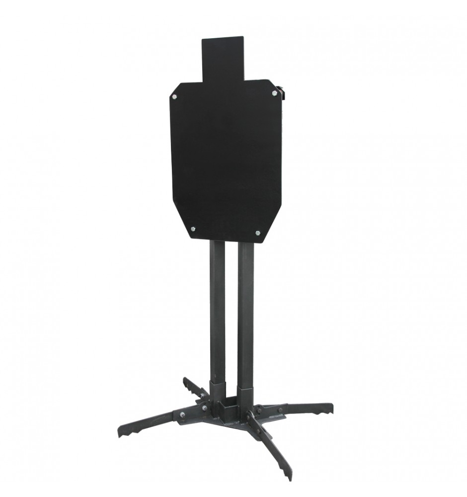 Steel Target IPSC №1 450*750*12 on stand G2