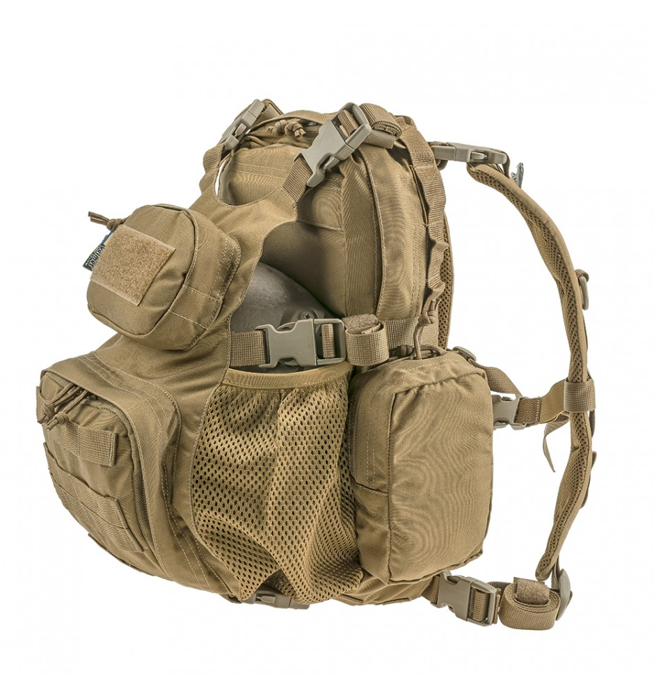 Тактичний штурмовий рюкзак HCP-S Coyote