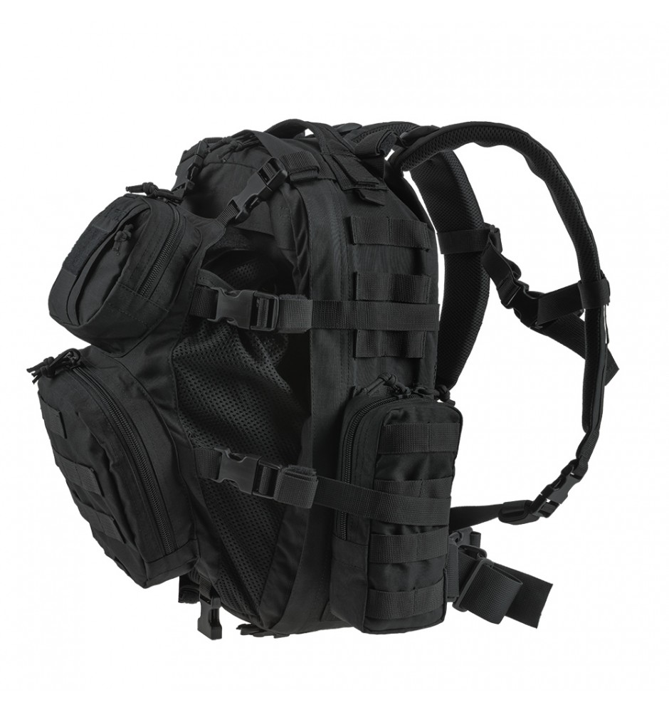 Backpack tactical assault HCP-L Black