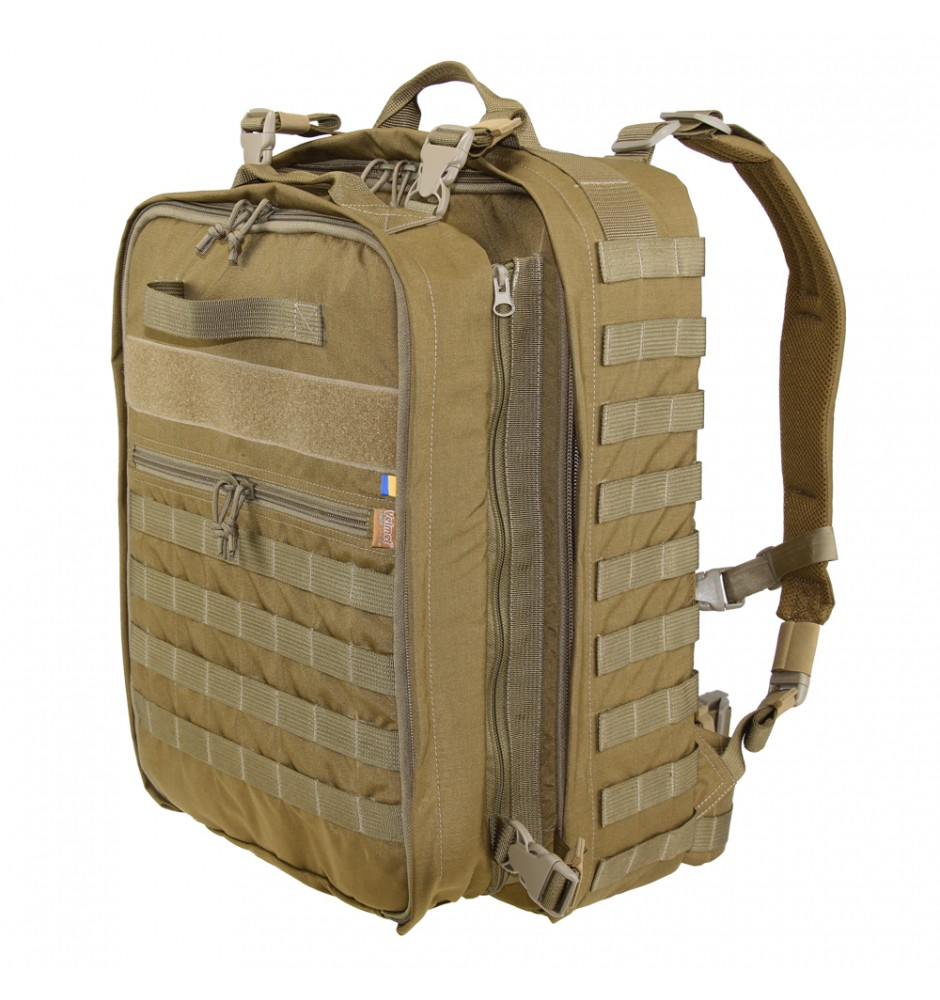 Backpack tactical medical MBP Coyote