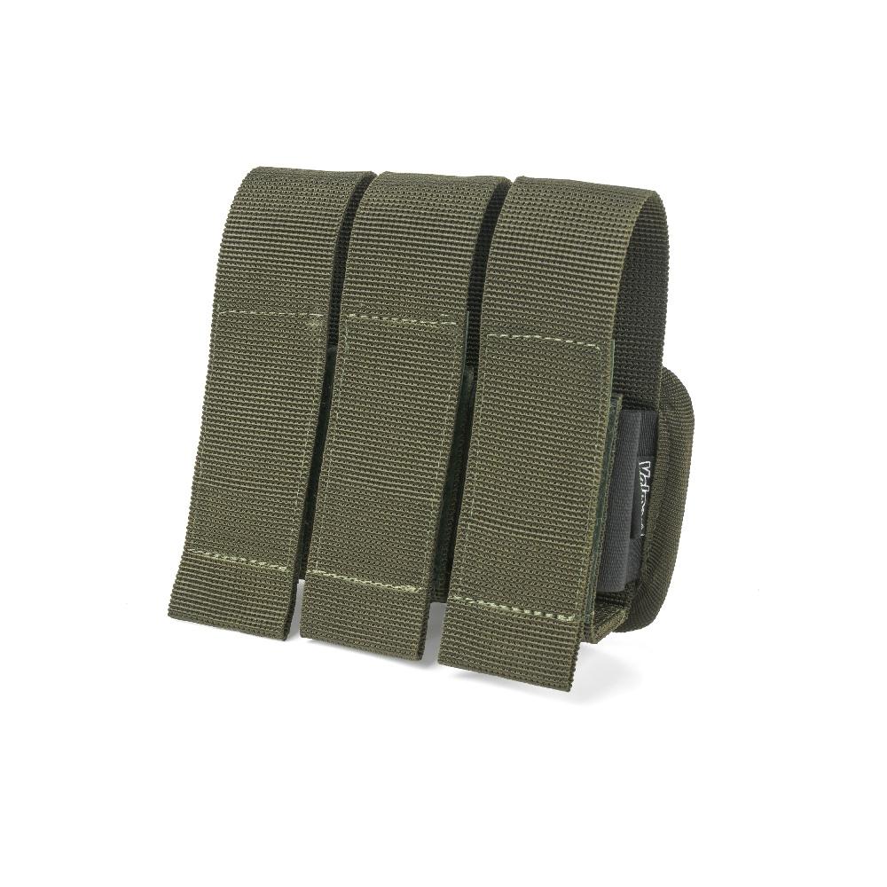 VELMET GP-3 Triple 40MM Grenade Pouch - Ranger Green
