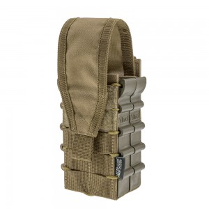 Double Mag Pouch for AK AR15 Coyote