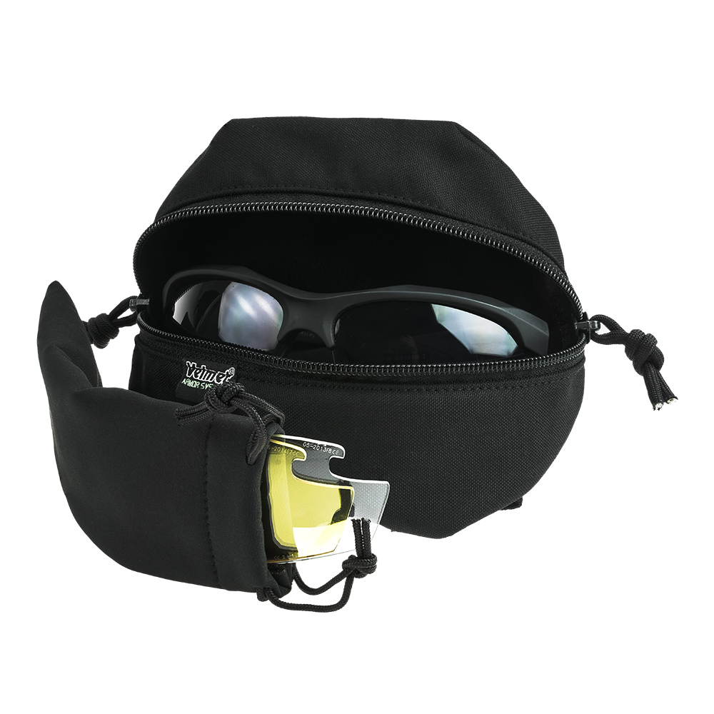 Spectacle Pouch GP - 1 Black