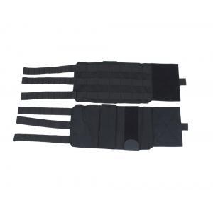 Adjustable and detachable rigid cummerbund for PC Perun 3 Black