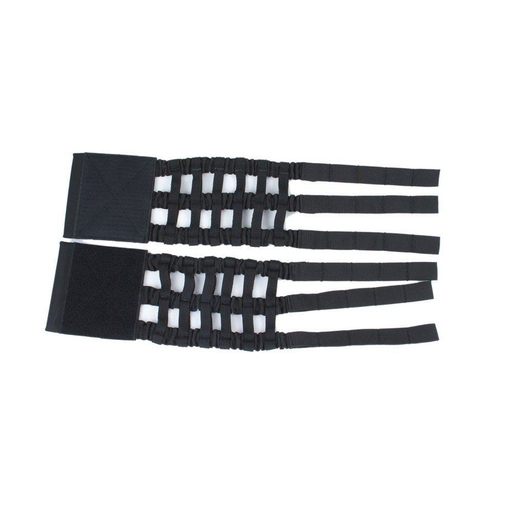 The elastic cummerbund plate carrier Perun 3 Black