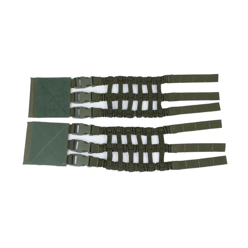 Еластичні камербанди до чохла для бронепластин Perun 3 з фастексами Ranger Green