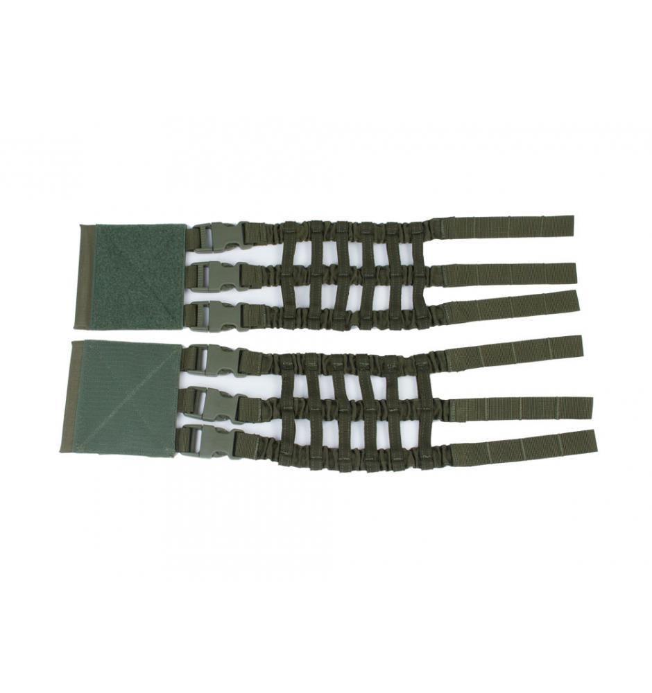 The elastic cummerbund plate carrier Perun 3 Ranger Green