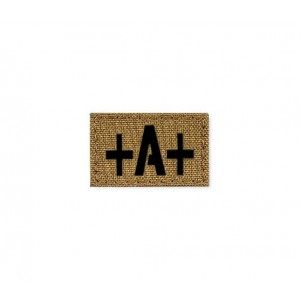 Blood Type Patch 25 * 40 (A +) Coyote