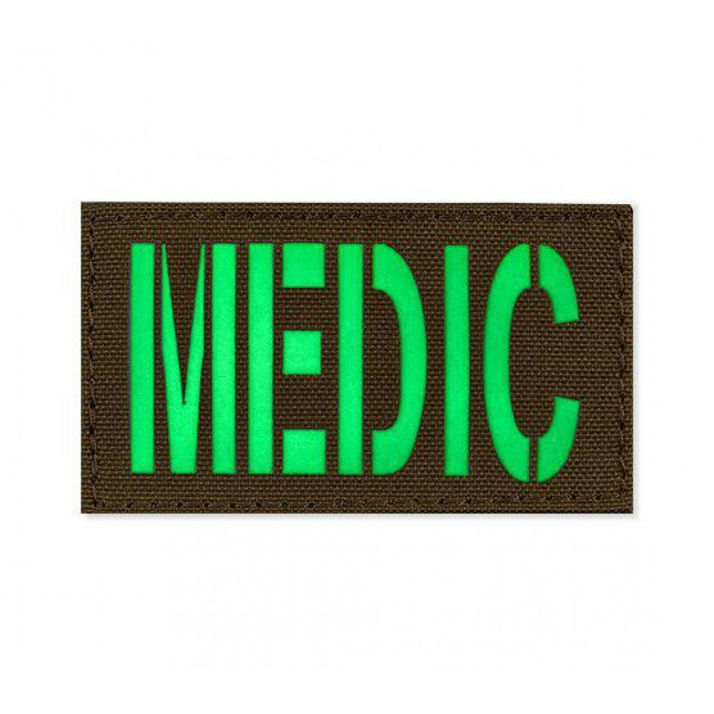 Patch light-accumulating MEDIC 45 * 80 Coyote