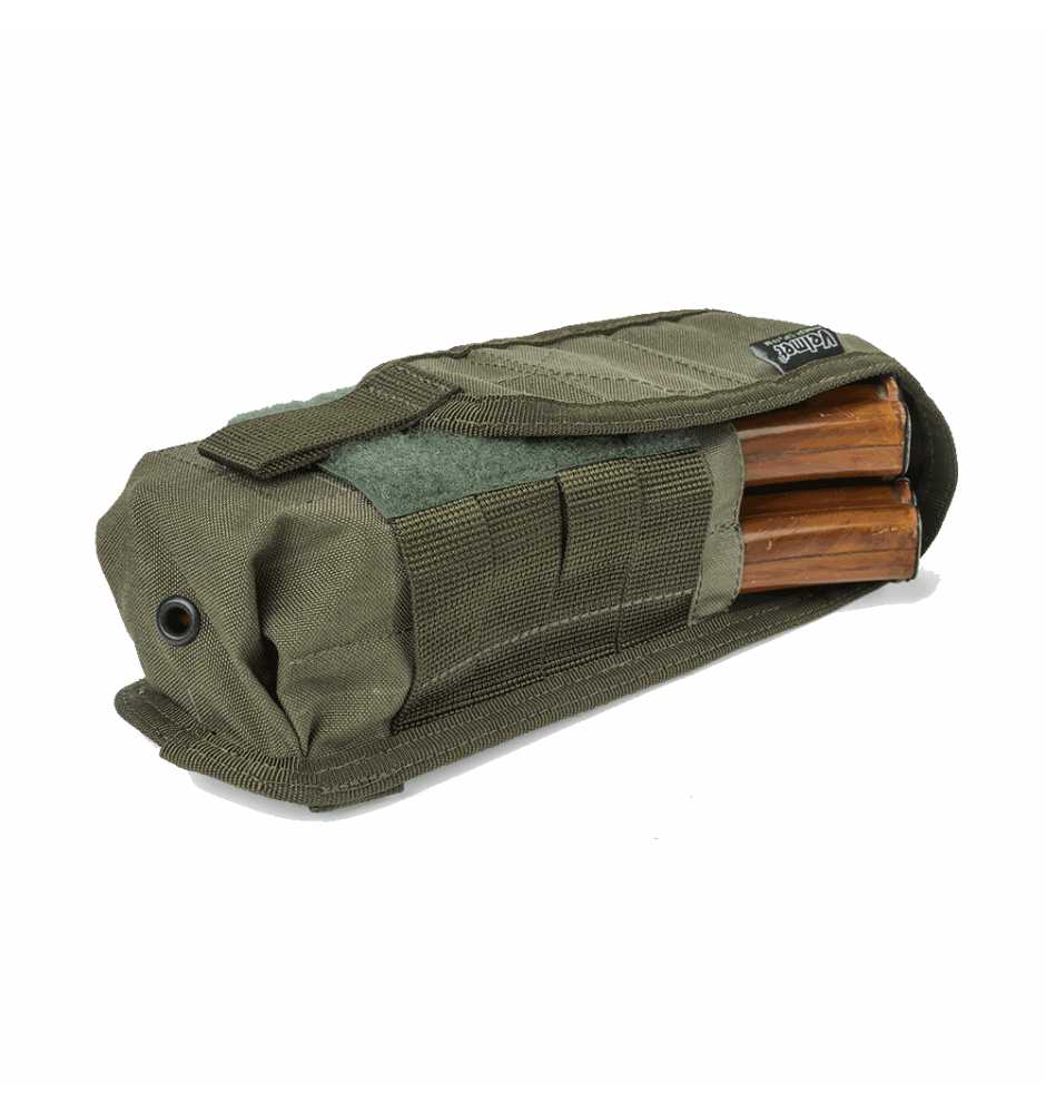 FM-2 Double Rifle Magazine Pouch - Ranger Green