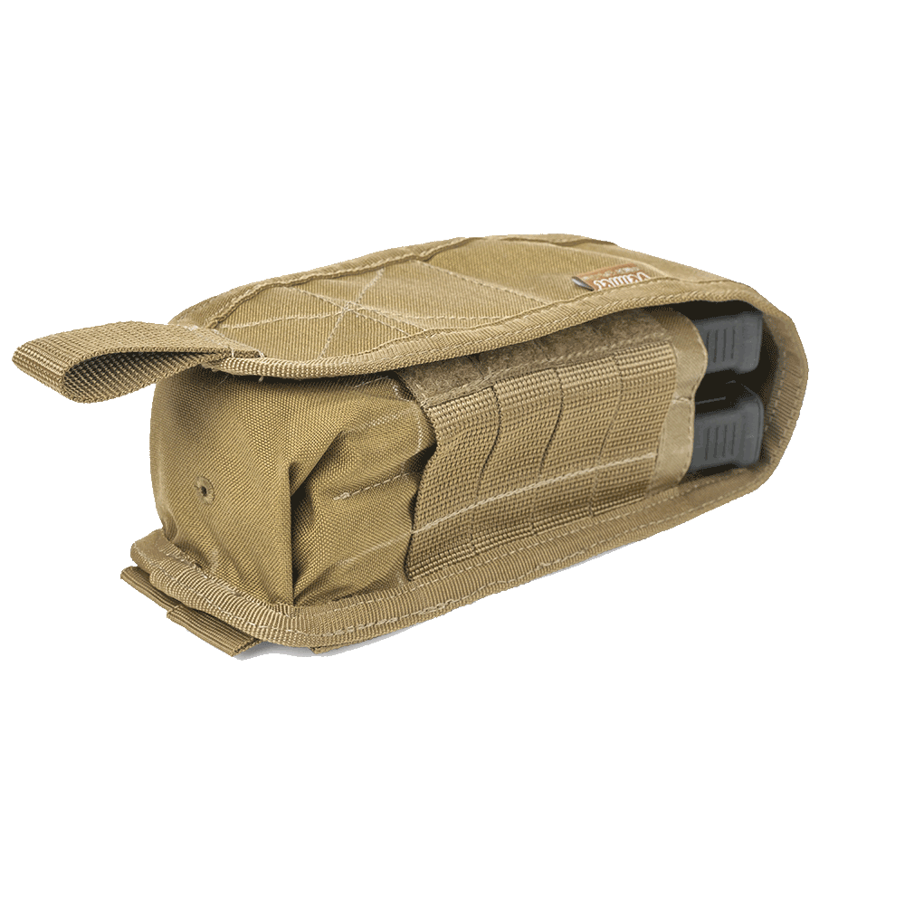 FM-2 Double Rifle Magazine Pouch Coyote
