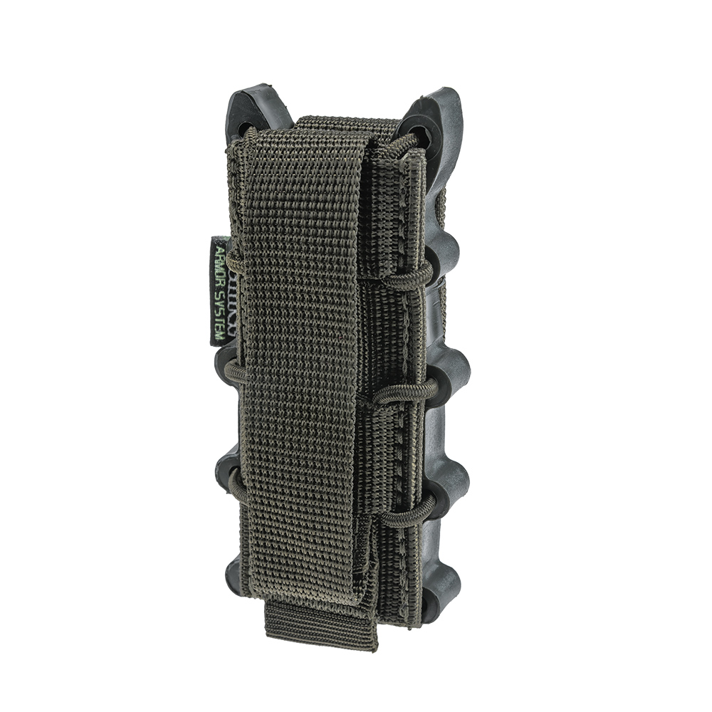 Open pistol magazine pouch PM-1SF Ranger Green