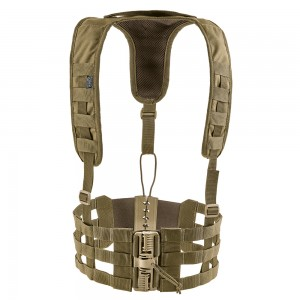Rhodesian Vest Chest Rig Skeleton-S Coyote