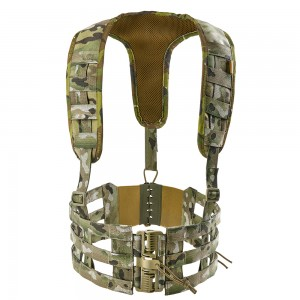 Rhodesian Vest Chest Rig Skeleton-S Multicam