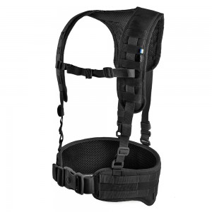 Tactical MOLLE Belt with Suspenders MOLLE Z-TAC SF G2 Black