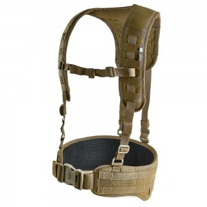 Tactical MOLLE Belt with Suspenders Z-TAC SF G2 Coyote