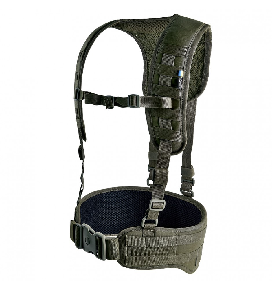 Tactical MOLLE Belt with Suspenders Z-TAC SF G2 Ranger Green