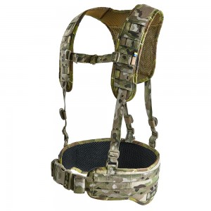 Tactical MOLLE Belt with Suspenders Z-TAC SF G2 V-Camo